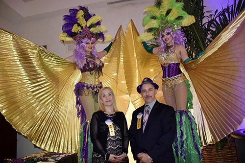 Co-Chairs Maria Zambigadis and Brian Hartman