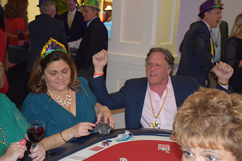 Dr. Nick & Elaine Coppola trying their luck in the casino