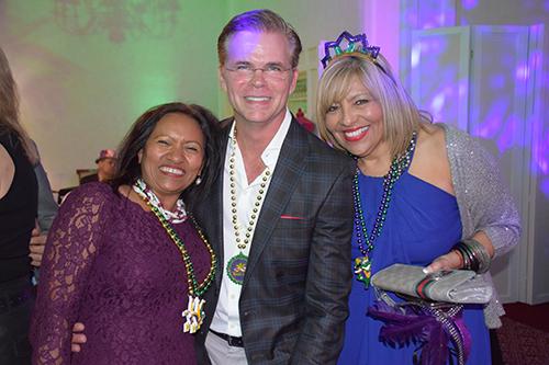 Tina Deonarine, Dr. Jimmy Lockhart & Tina Zayas